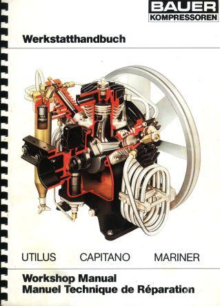 Bauer Compressor Workshop manual 1988 Front cover