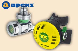 The APEKS TX40 Oxygen regulator - www.aqualung.com