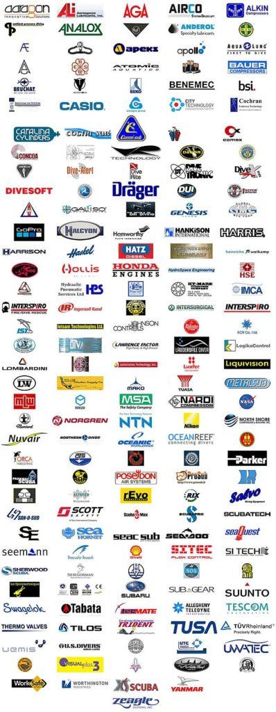 scuba manufacturers