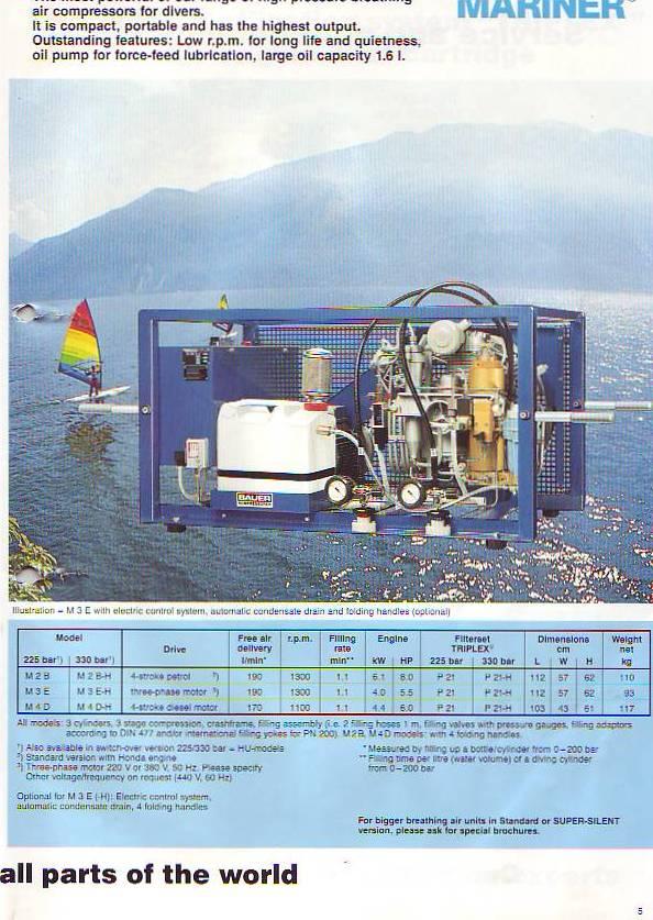 Bauer Compressors - Scuba Engineer