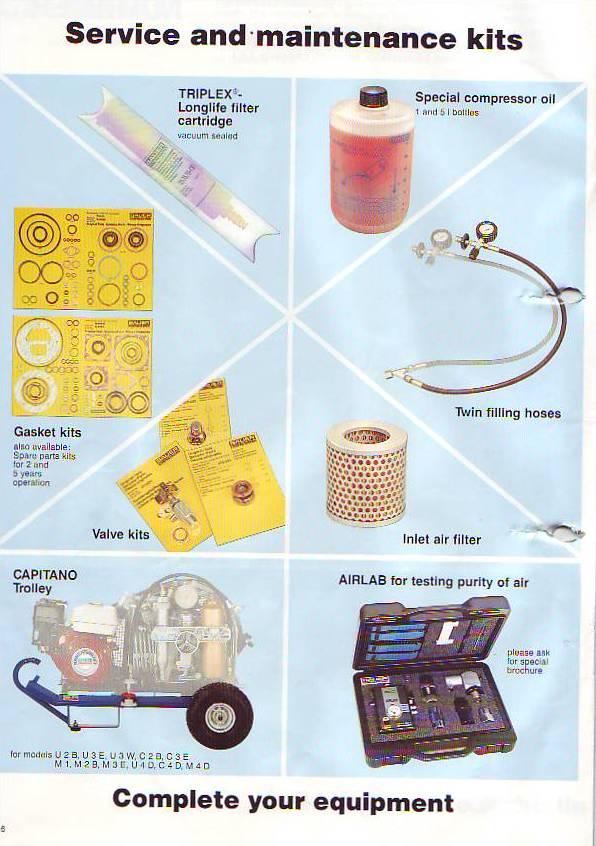 Bauer Mariner And Capitano Compressor Service Part Kits: Mako Air Pressor Wiring Diagram At Johnprice.co