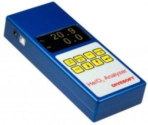 Divesoft Oxygen Helium Trimix analyser